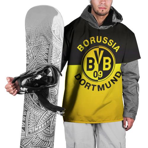 Накидка на куртку 3D Borussia Dortmund FC