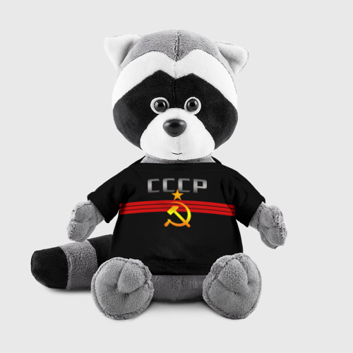Игрушка Енотик в футболке 3D СССР