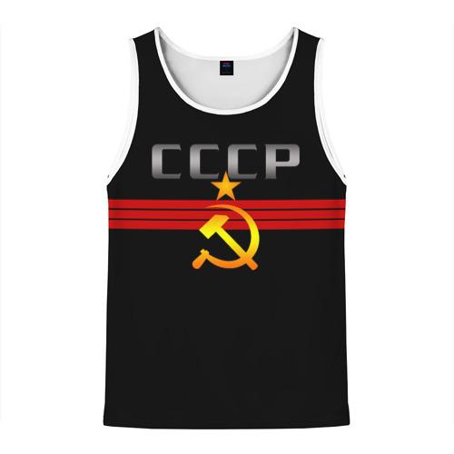 Мужская майка 3D СССР