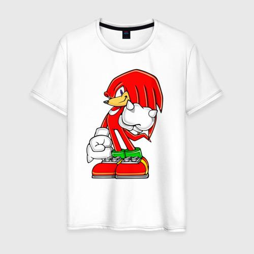 Мужская футболка хлопок Ехидна Наклз