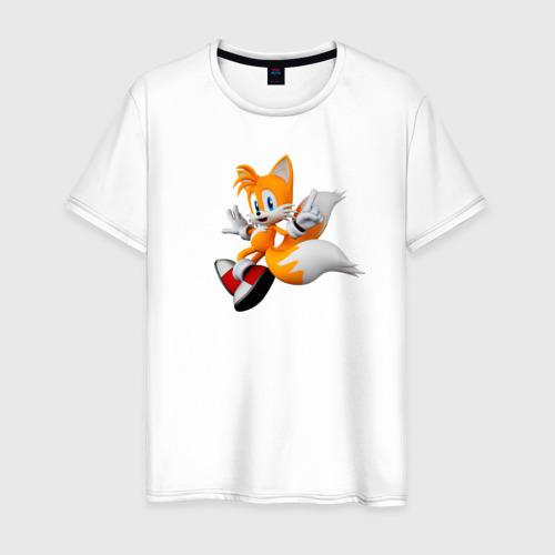 Мужская футболка хлопок Лисенок Тейлз