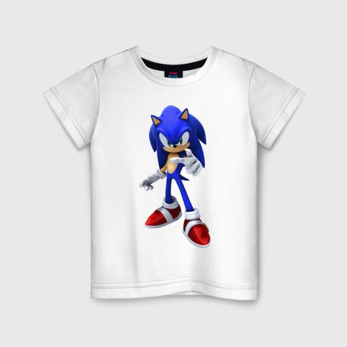 Детская футболка хлопок ЁЖ Соник