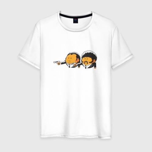 Мужская футболка хлопок Криминальное чтиво