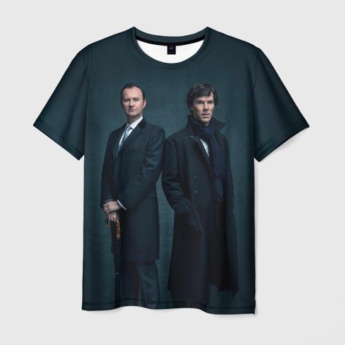 Мужская футболка 3D Холмсы