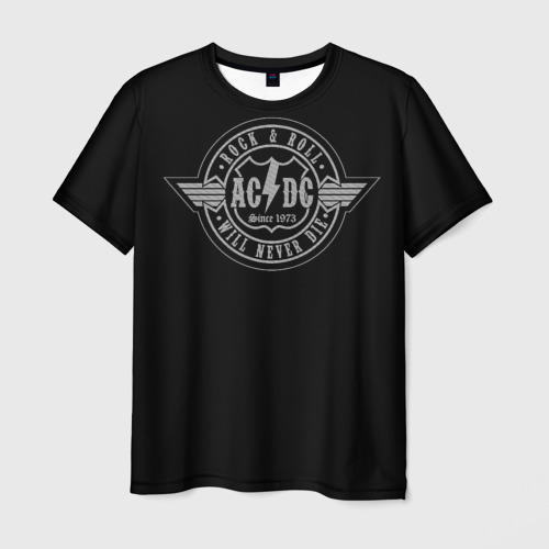 Мужская футболка 3D AC/DC 2
