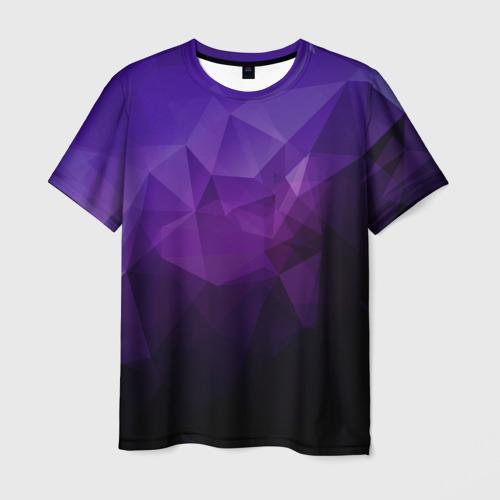 Мужская футболка 3D PolyViolet