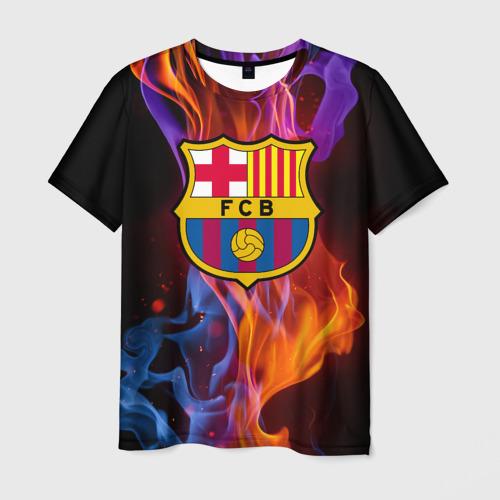 Мужская футболка 3D Барселона