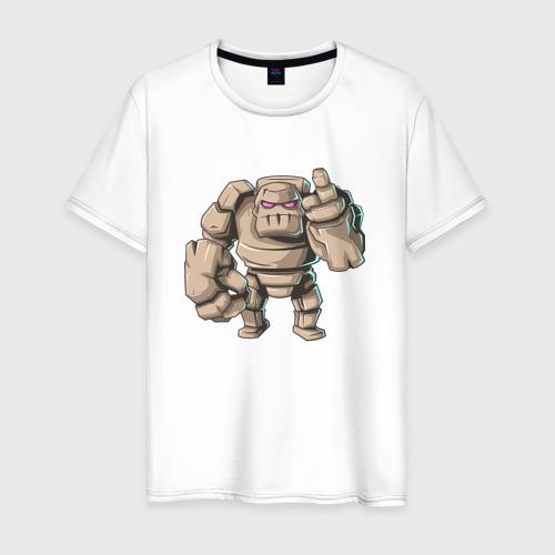 Мужская футболка хлопок Голем
