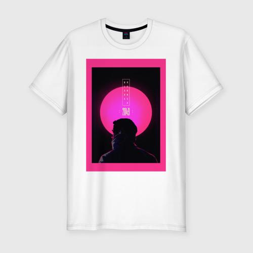 Мужская футболка хлопок Slim Blade runner 2049
