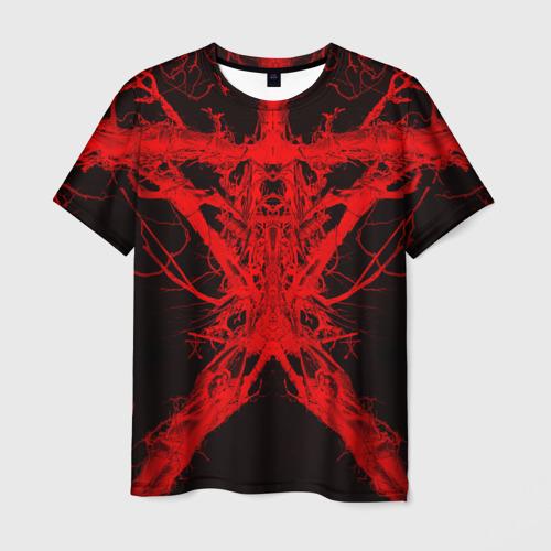 Мужская футболка 3D Ведьма из Блэр