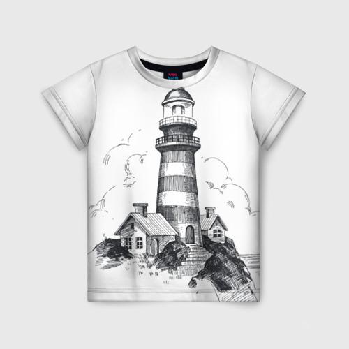 Детская футболка 3D Маяк