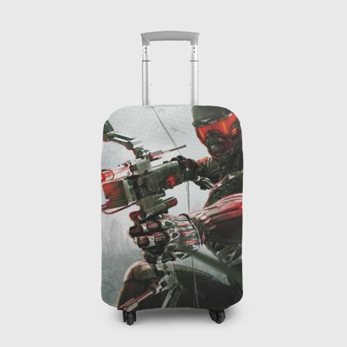 Чехол для чемодана 3D Кризис
