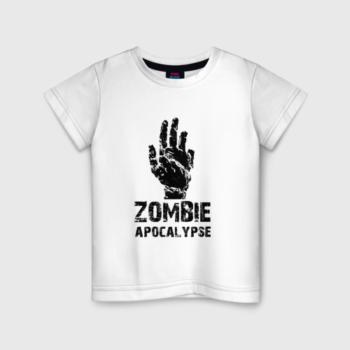 Детская футболка хлопок Зомби Апокалипсис