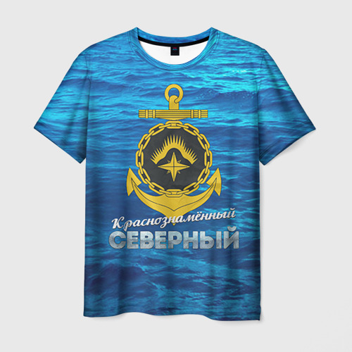 Мужская футболка 3D ВМФ 2