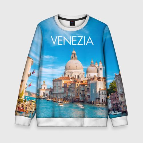 Детский свитшот 3D Венеция