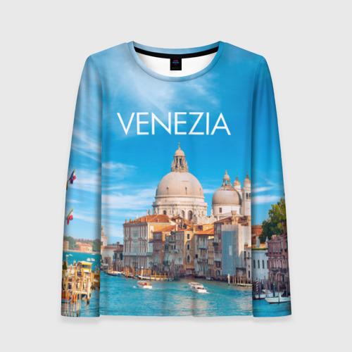 Женский лонгслив 3D Венеция