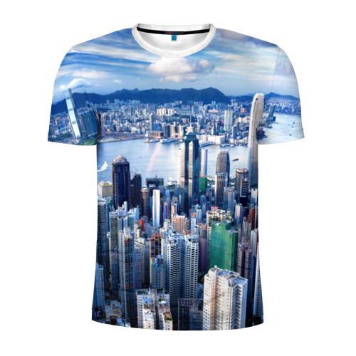 Мужская футболка 3D спортивная Гонконг, Китай