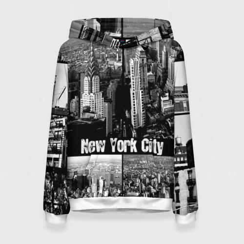 Женская толстовка 3D Улицы Нью-Йорка