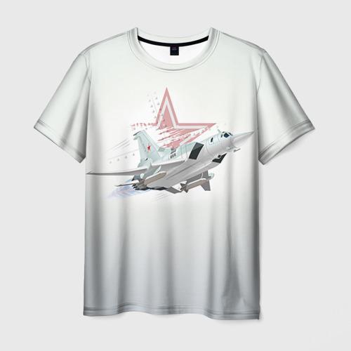 Мужская футболка 3D Ту-22