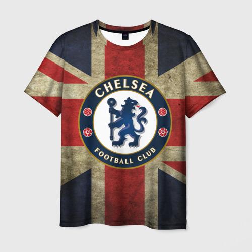 Мужская футболка 3D Chelsea №1!