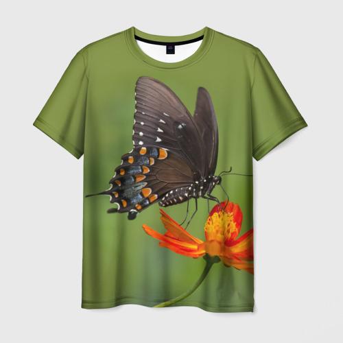Мужская футболка 3D Бабочка 4