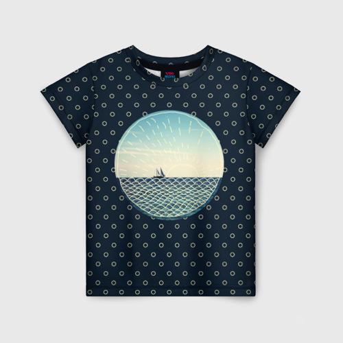 Детская футболка 3D Морское настроение