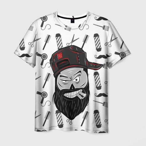 Мужская футболка 3D БЛЭКБАРБЕР