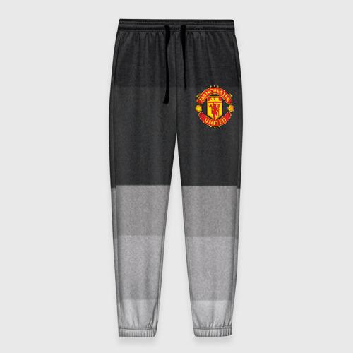 Мужские брюки 3D Manchester United - Noise (Шум)