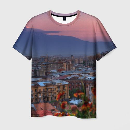 Мужская футболка 3D Армения