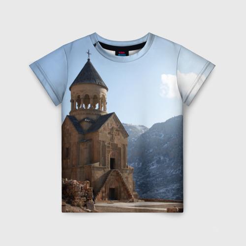 Детская футболка 3D Монастырь Нораванк