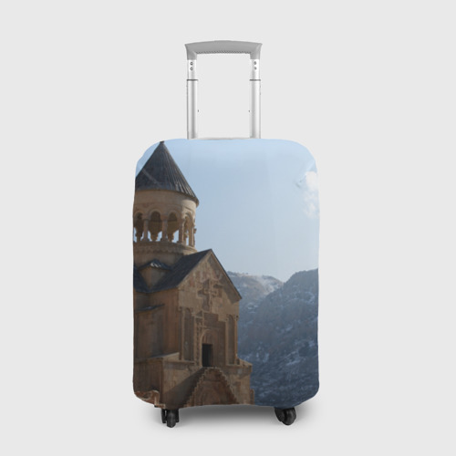 Чехол для чемодана 3D Монастырь Нораванк