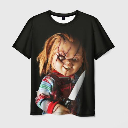 Мужская футболка 3D Чаки