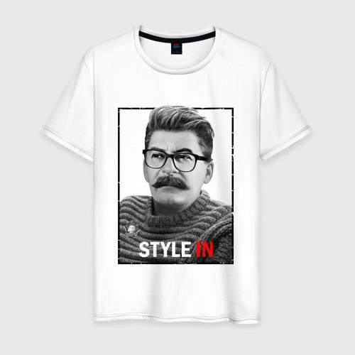 Мужская футболка хлопок Style in