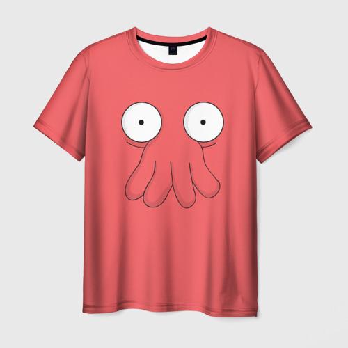 Мужская футболка 3D Доктор Зойдберг