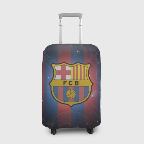Чехол для чемодана 3D Я фанат fc Barcelona!