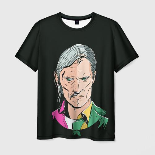 Мужская футболка 3D Настоящий детектив