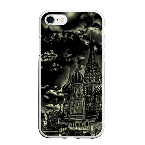 Чехол для iPhone 7/8 матовый Москва