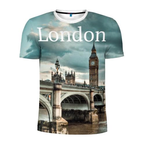 Мужская футболка 3D спортивная London