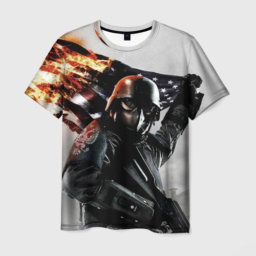 Мужская футболка 3D Победа