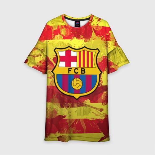Детское платье 3D Барселона №1!
