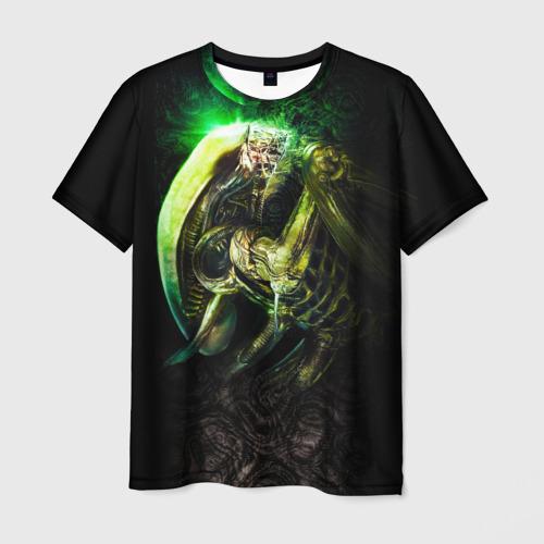 Мужская футболка 3D Чужой