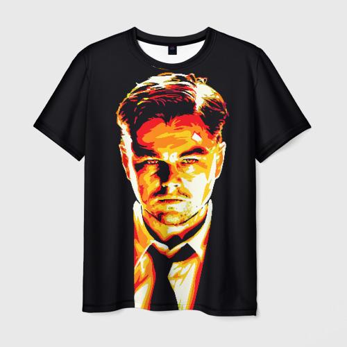 Мужская футболка 3D Леонардо ДиКаприо