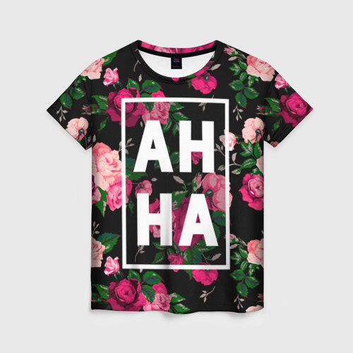 Женская футболка 3D Анна