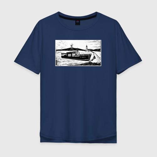 Мужская футболка хлопок Oversize Владивосток