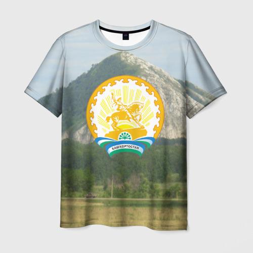 Мужская футболка 3D Башкортостан