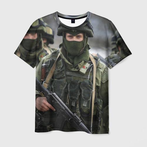 Мужская футболка 3D Вежливые люди