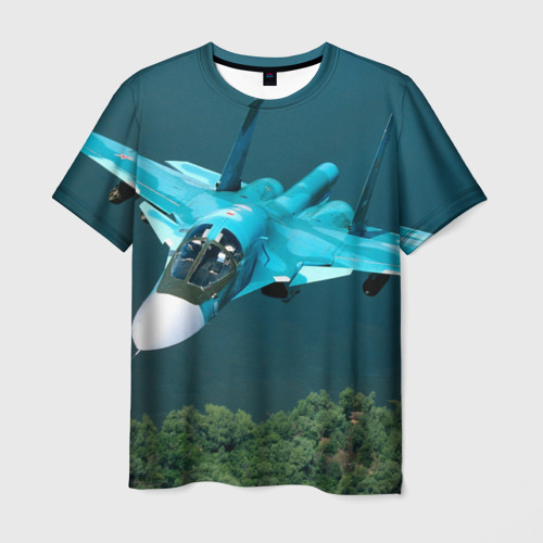 Мужская футболка 3D Су 34