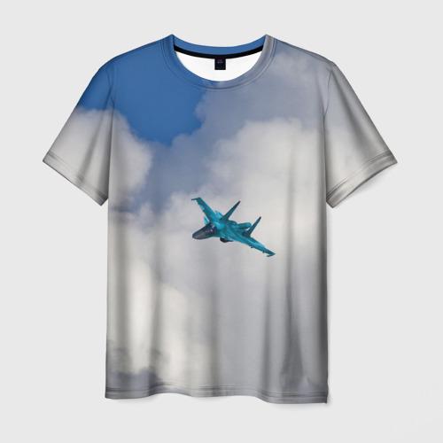 Мужская футболка 3D Сухой