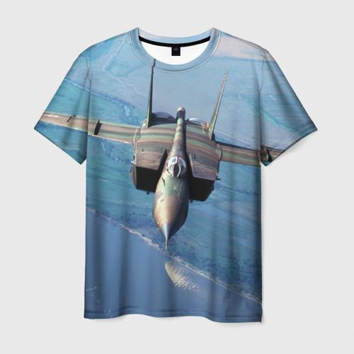 Мужская футболка 3D МиГ-31