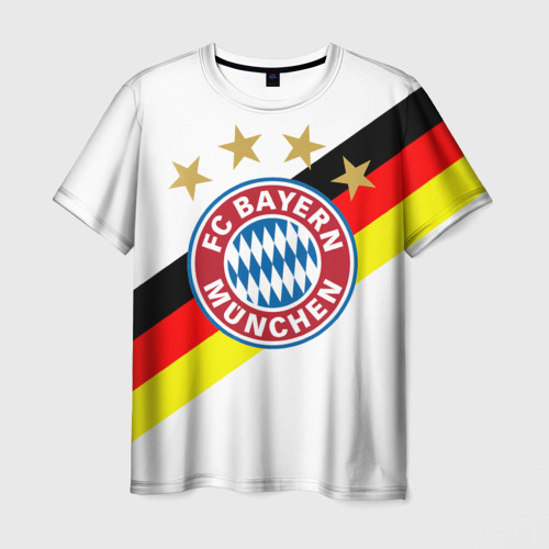 Мужская футболка 3D ФК Бавария